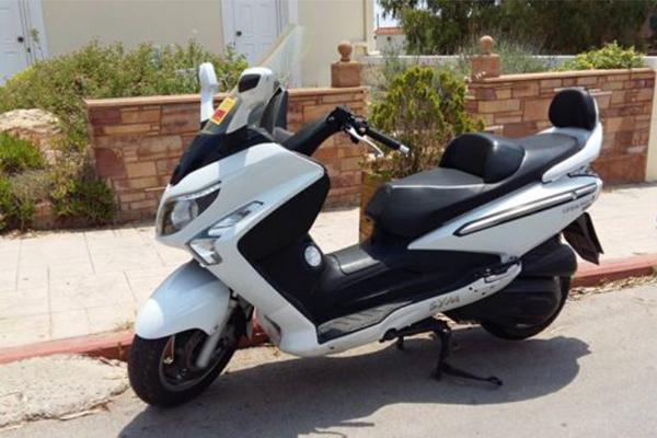 SYM GTS 250cc